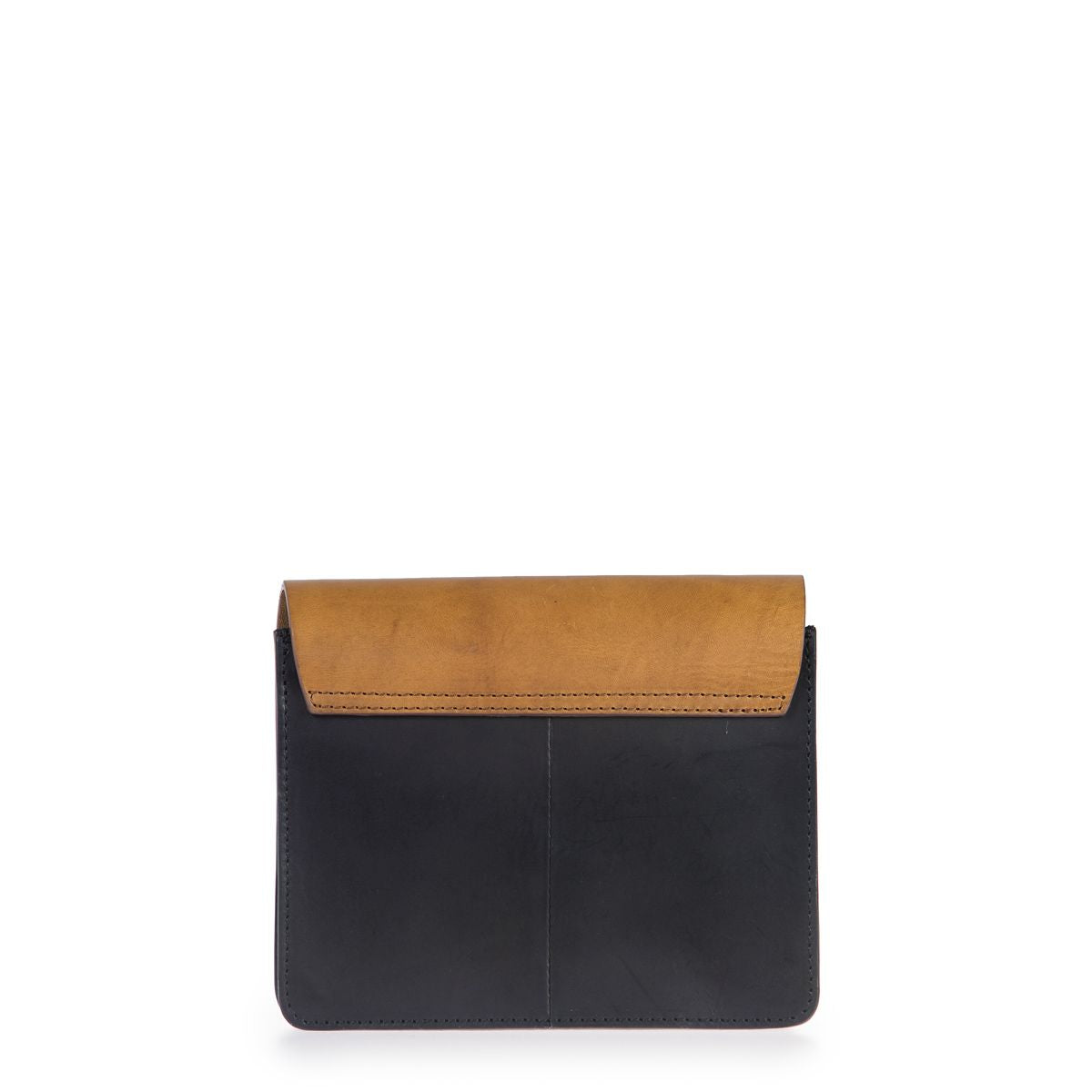 O My Bag // Audrey mini bag - Black / Cognac