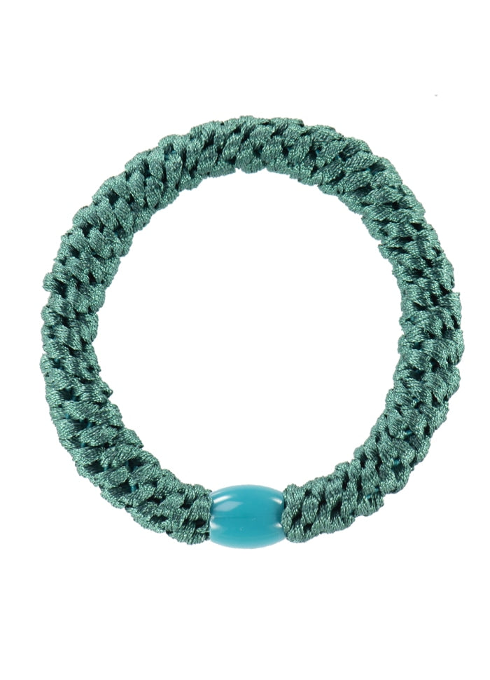 Kknekki // Hair Accessories - Petrol Green