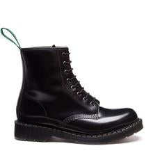Solovair // S8-551-BK-G -Men - Black HI-Shine