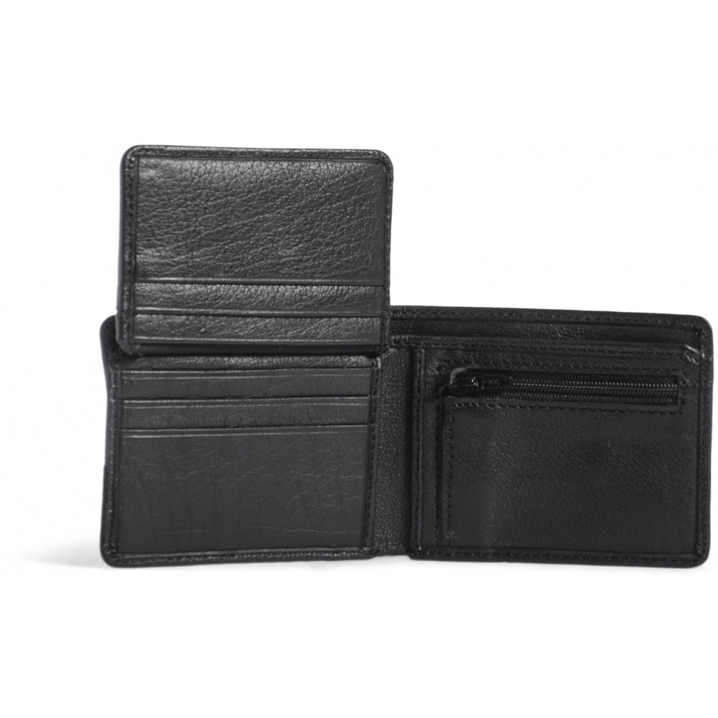 Still Nordic // Hail Zip cardholder - Black