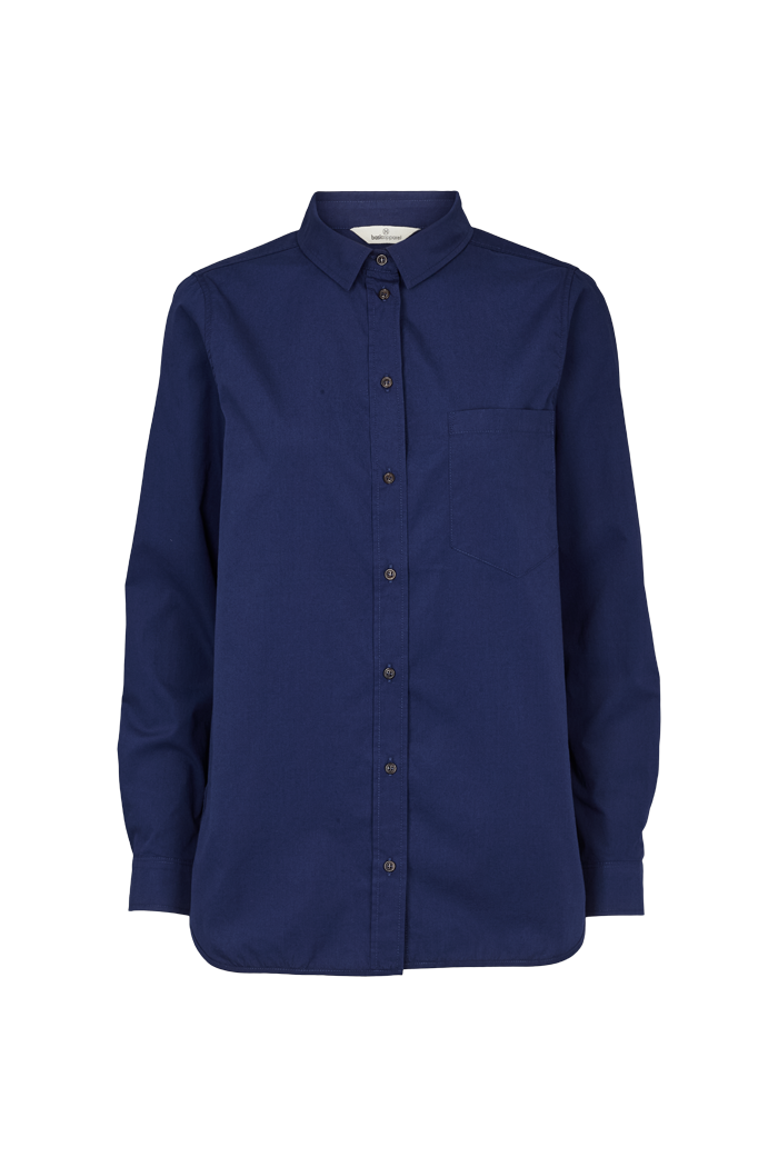 Basic Apparel // Vilde shirt - indigo