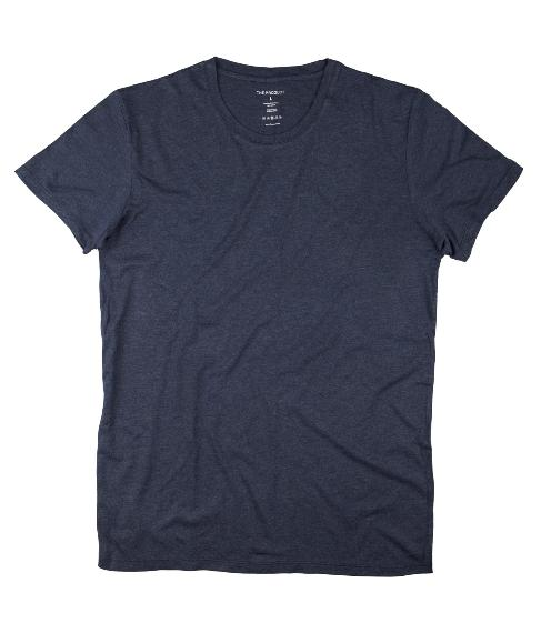 The Product // Bamboo T-shirt - Blue Melange
