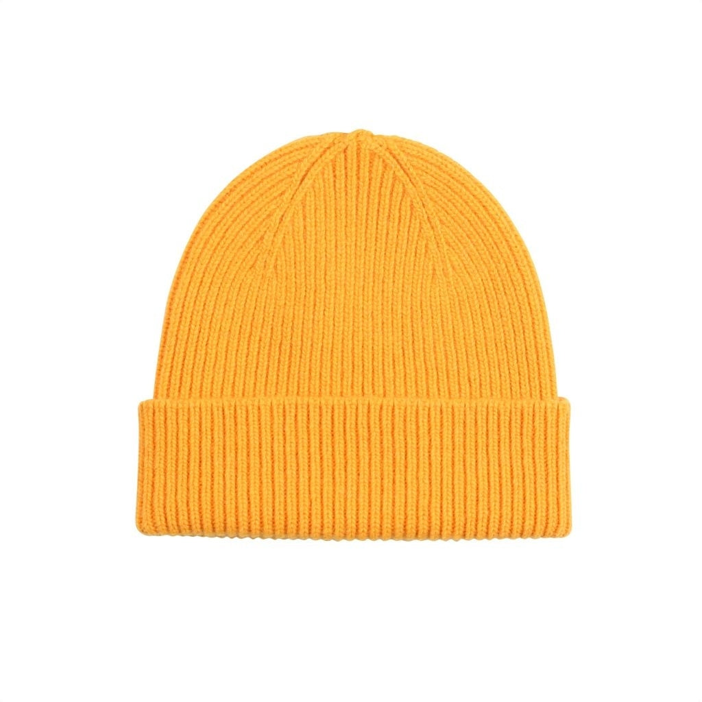 Colorful Standard / Unisex Beanie / Burned Yellow