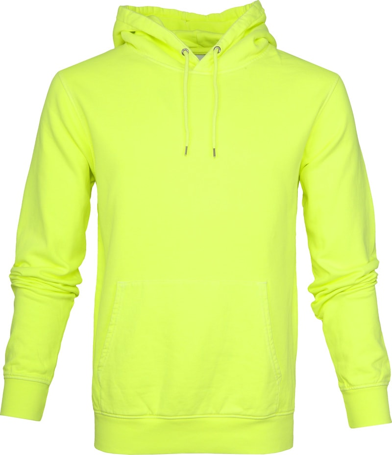 Colorful Standard / Organic Hoodie / Neon Yellow