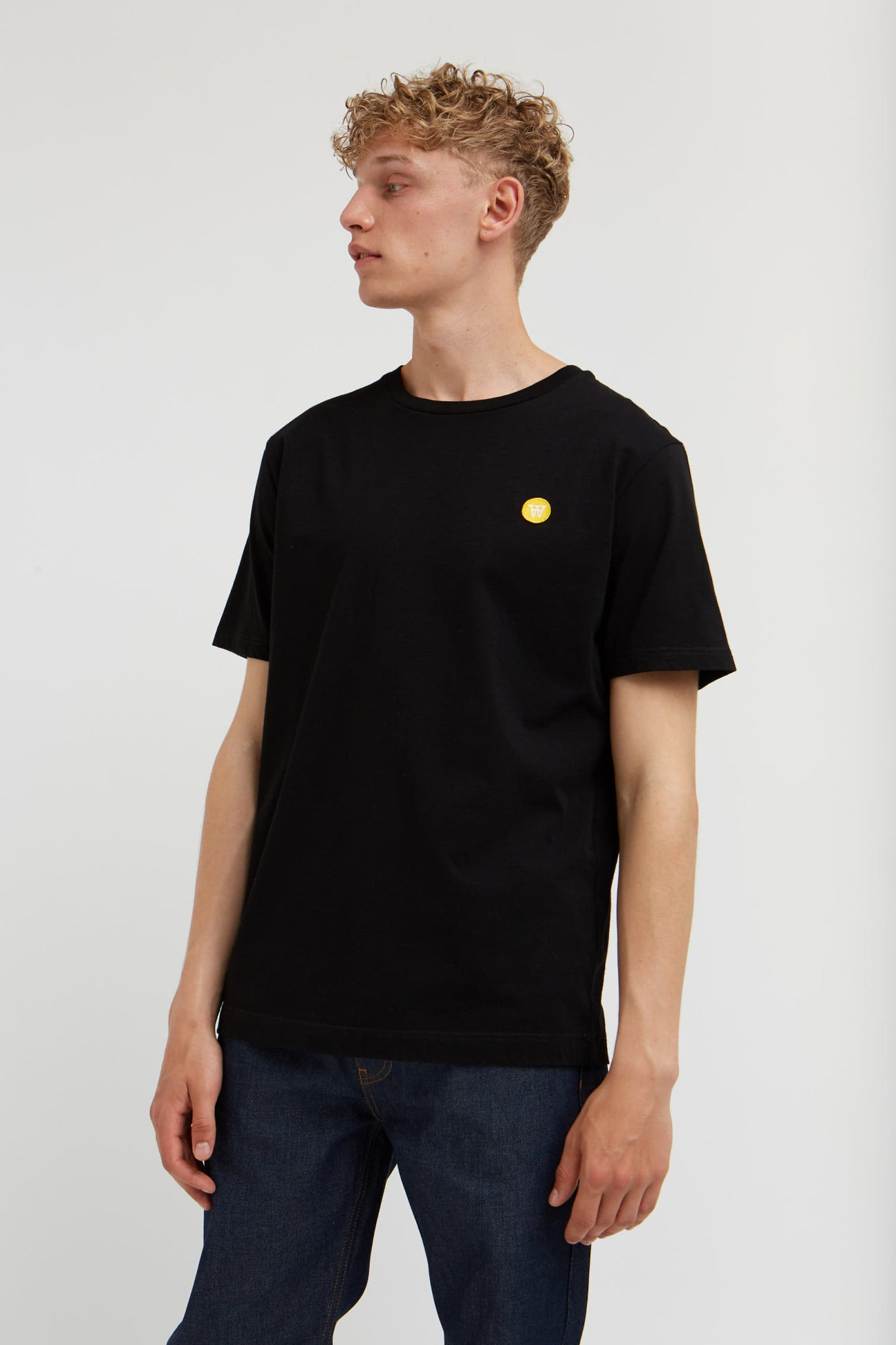 Wood wood // Ace T-shirt organic cotton - black