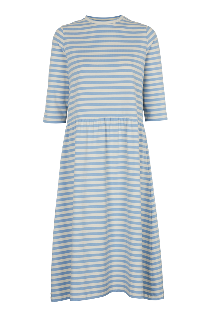 Basic Apparel // Elba dress - blue / offwhite stripe
