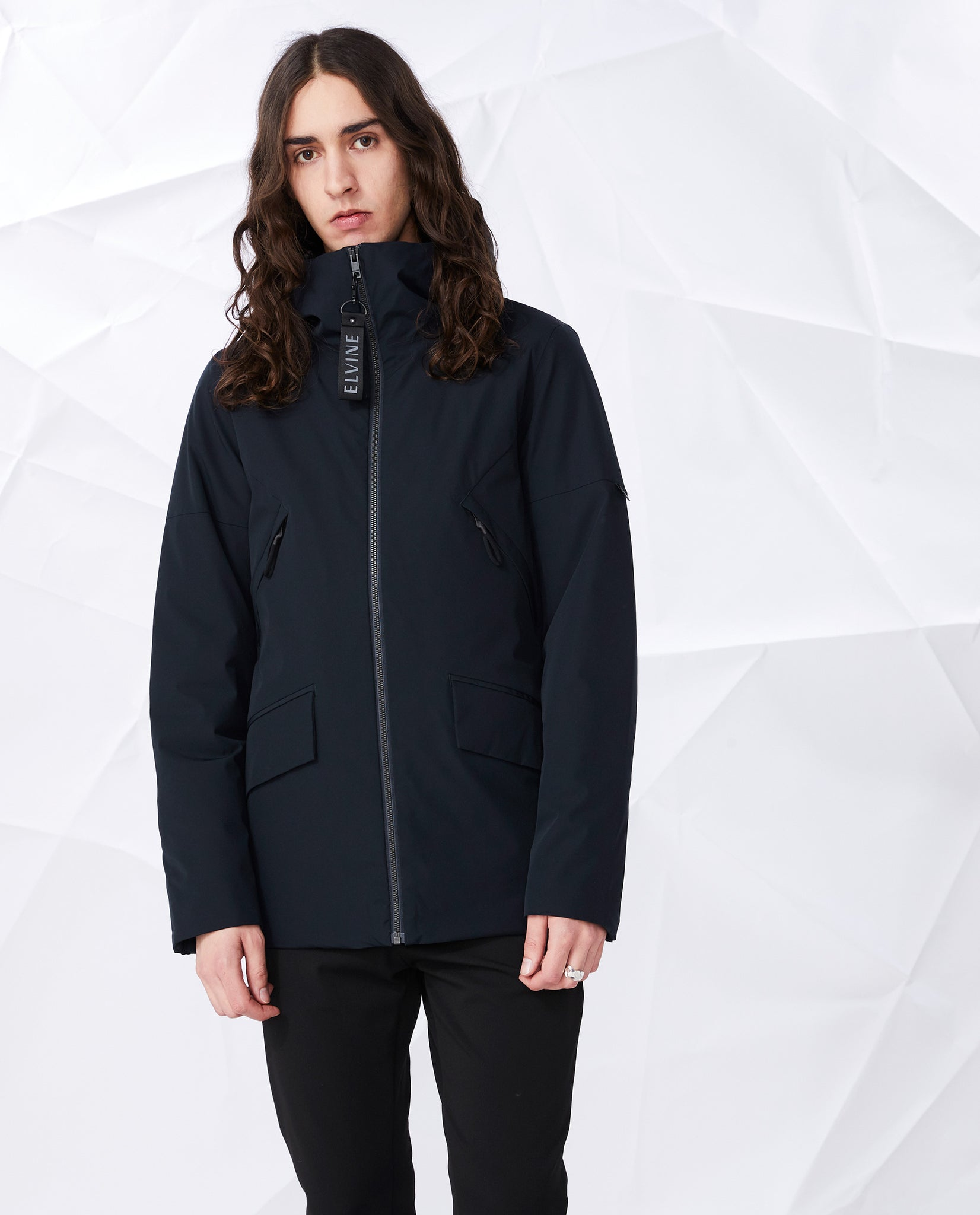 Elvine // Cole mens jacket - dark navy