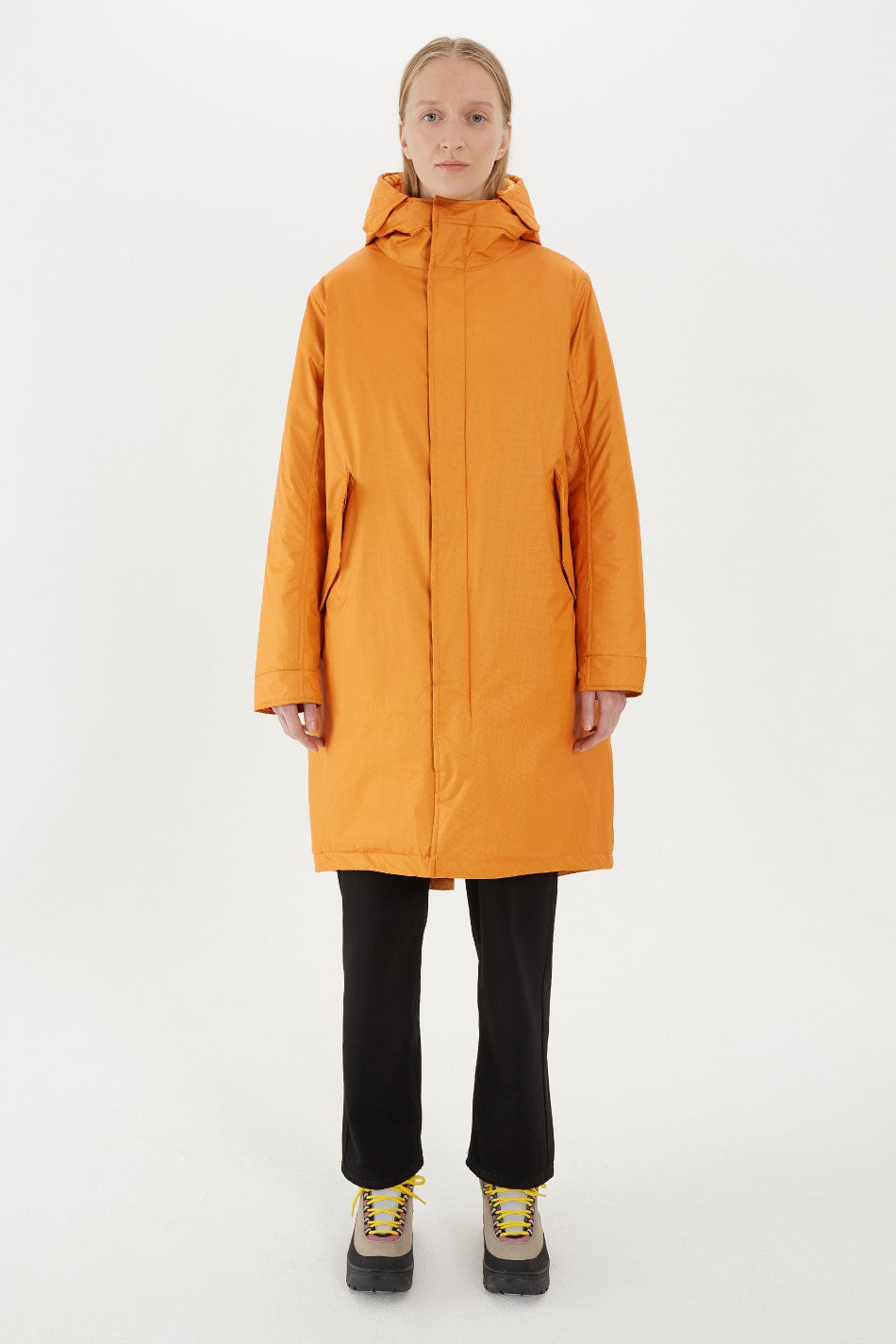 SHU // Ripstop parka - orange