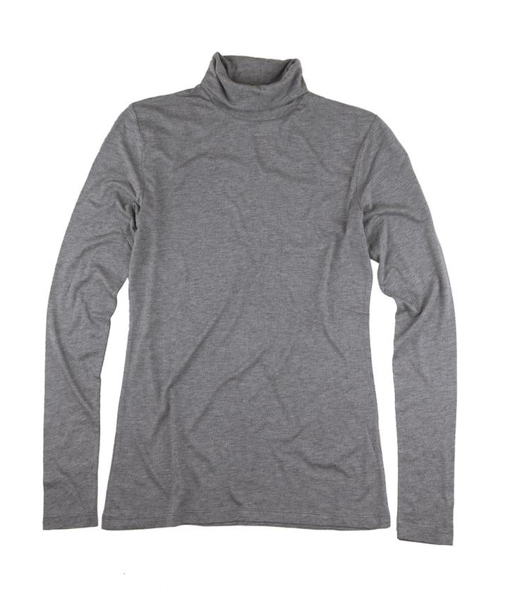 The Product // Bamboo Shirt - Grey Melange