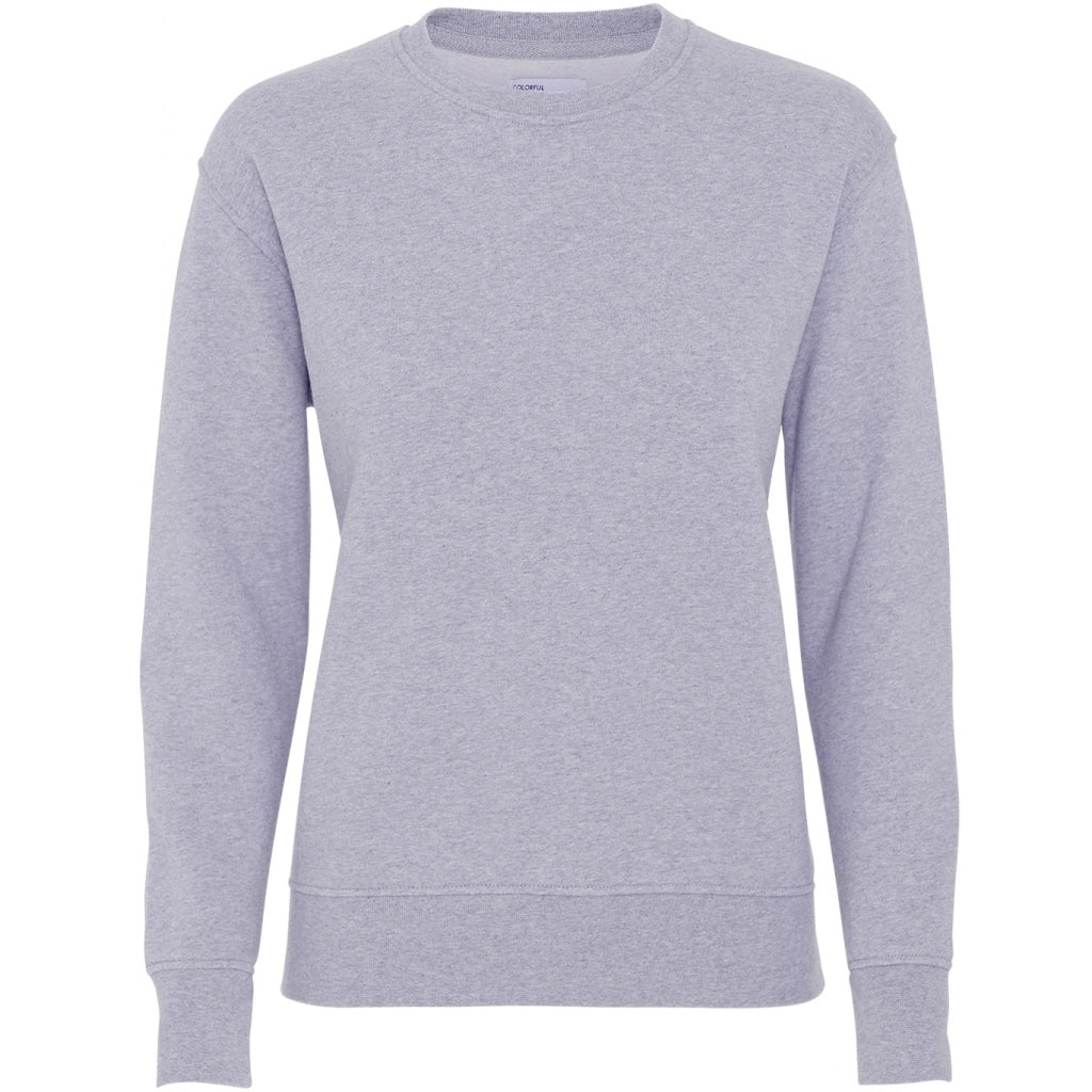 Colorful Standard / Women's Organic Crewneck / Heather Grey
