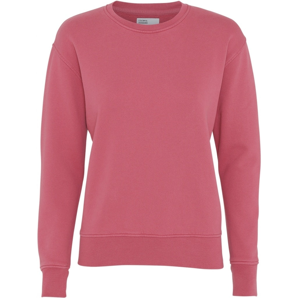 Colorful Standard / Women's Organic Crewneck / Raspberry Pink