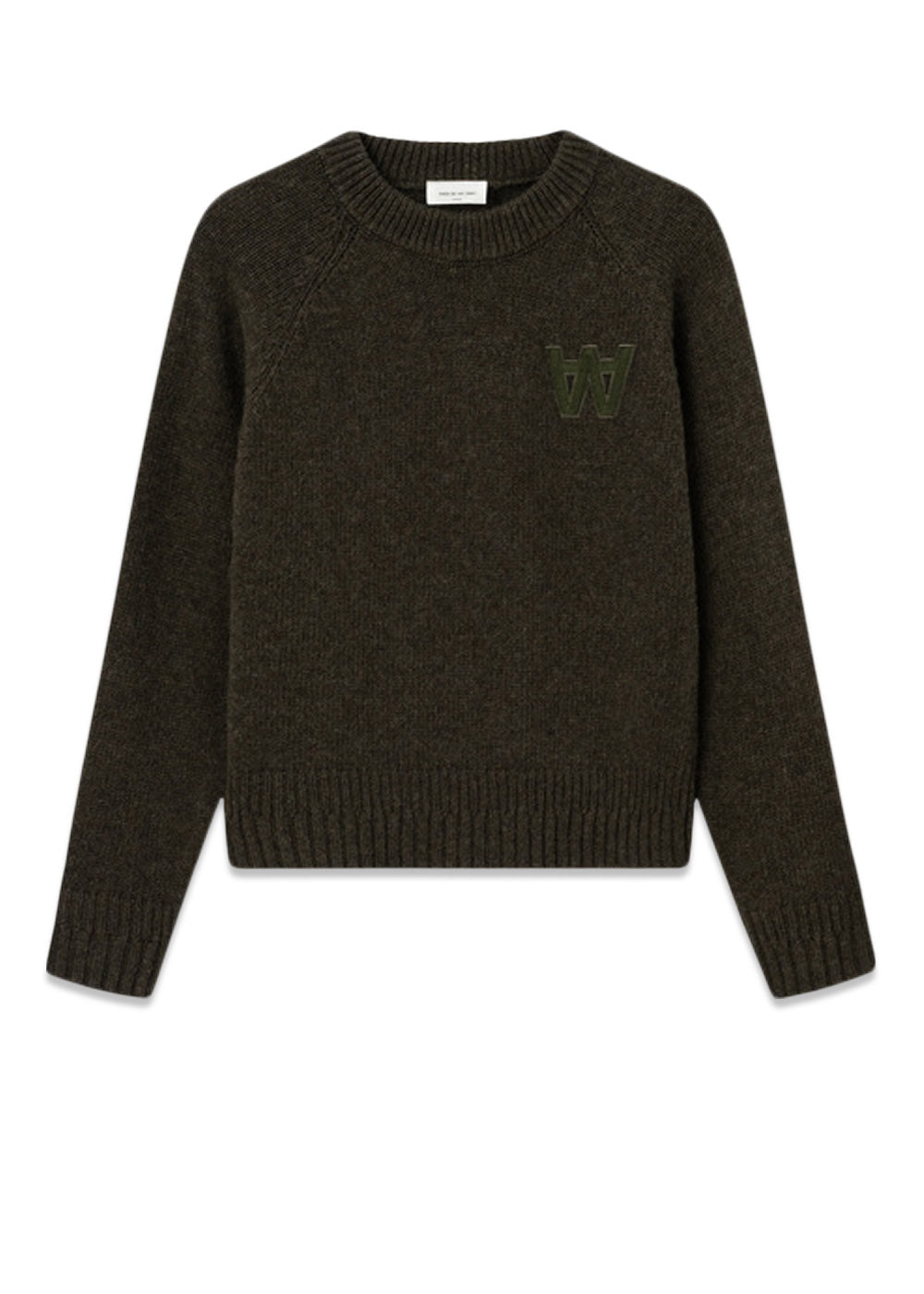 Wood Wood // Asta Jumper - dark green