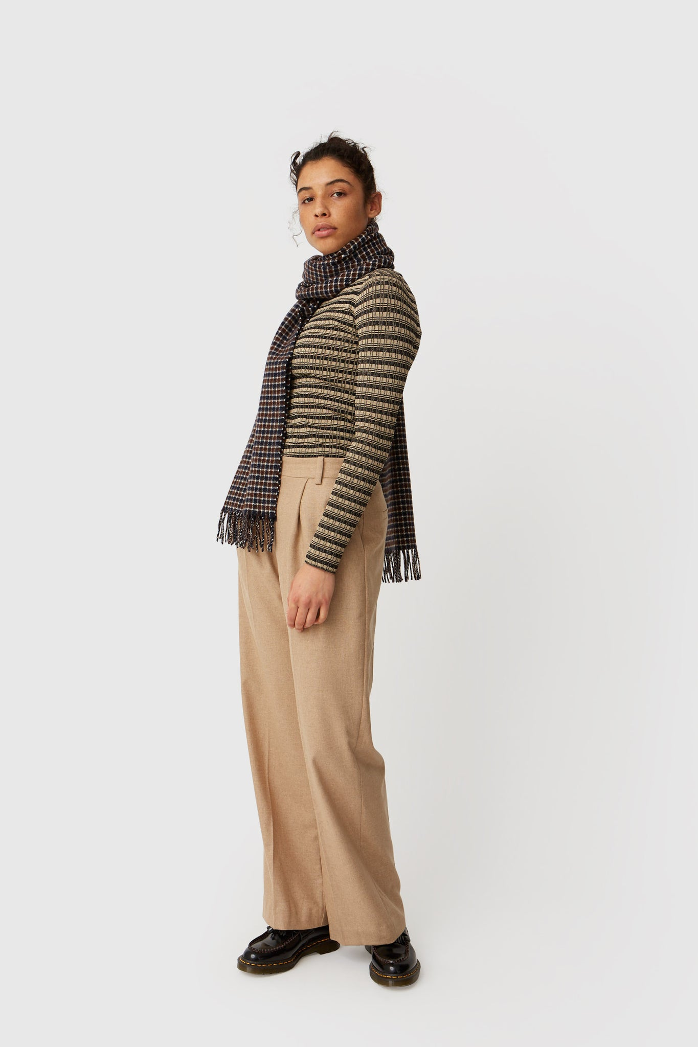 Wood Wood // Sophie trousers - khaki