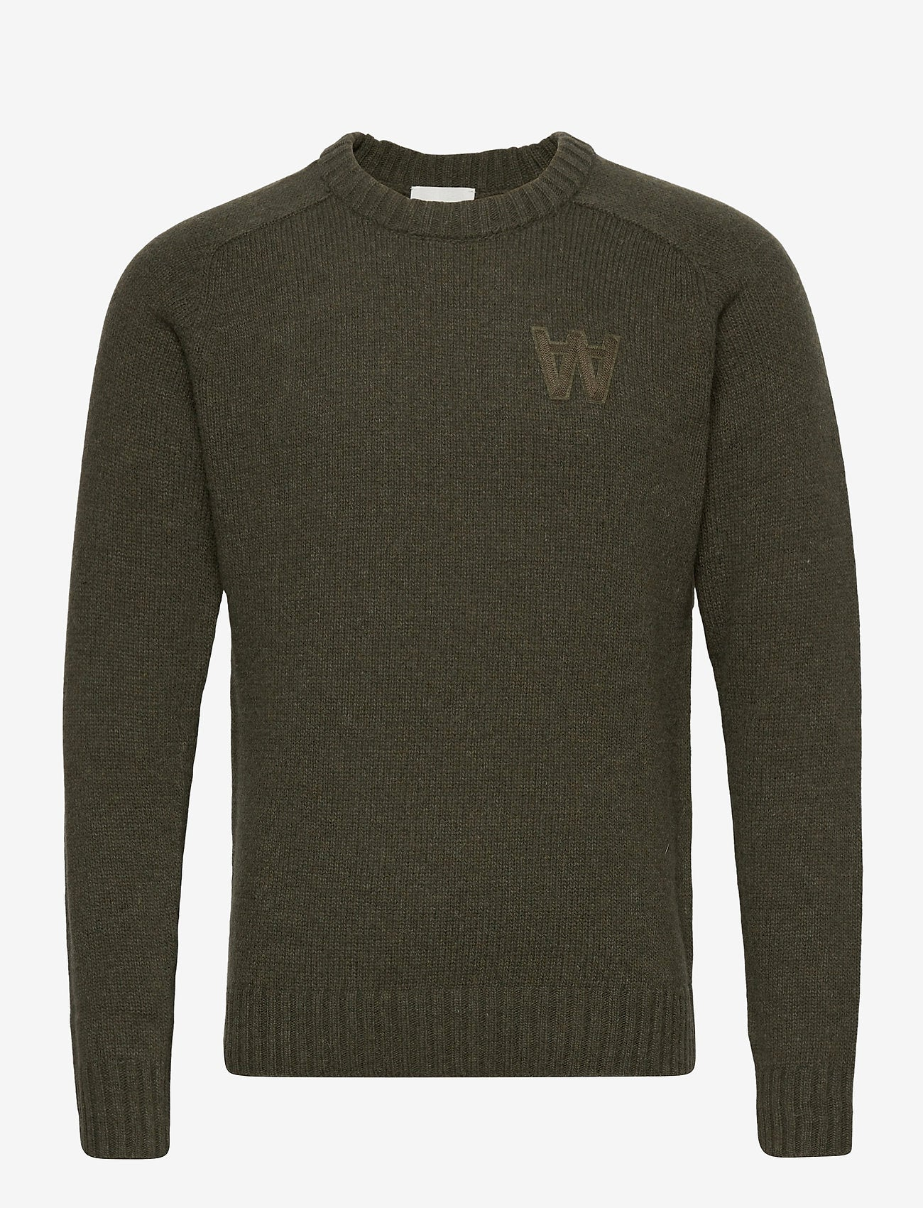 Wood Wood // Kevin jumper - dark green