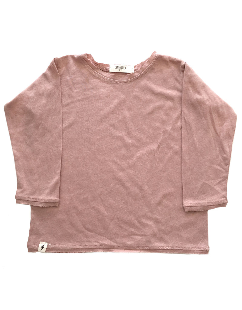 Long Sleeve t-shirt in Mauve