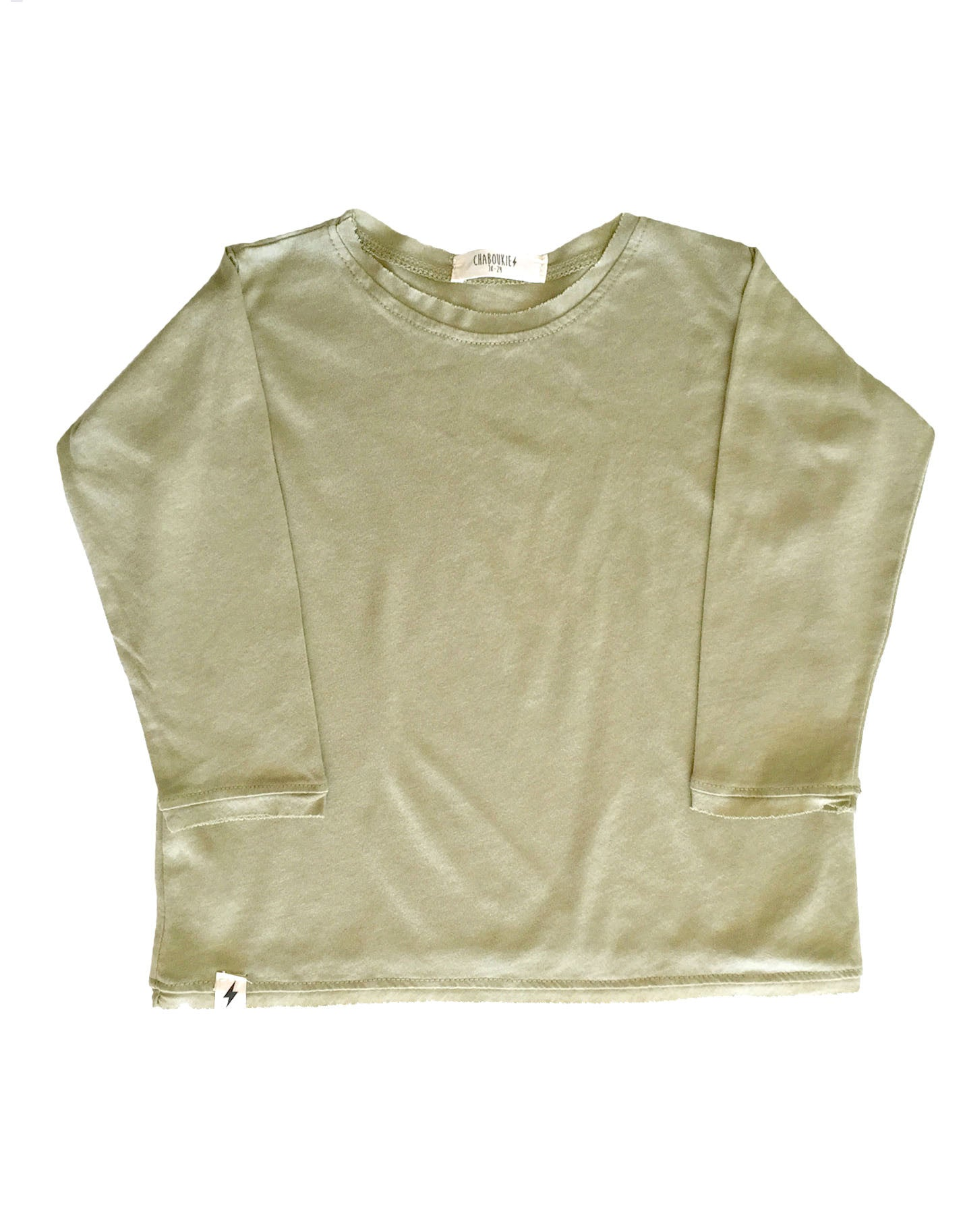 Long Sleeve t-shirt in Moss