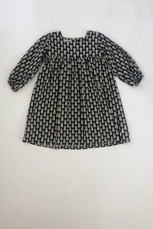 Kid's India Dress in Black