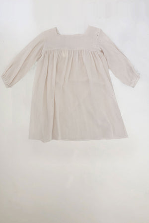 Kid's India Dress in Natural