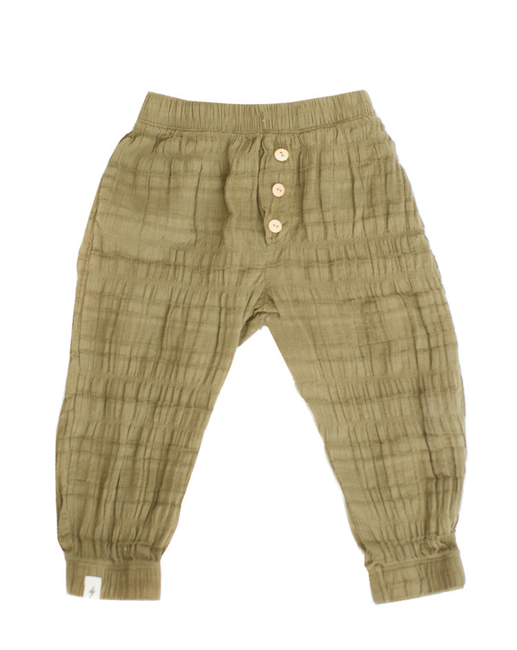 Joggers in Olive