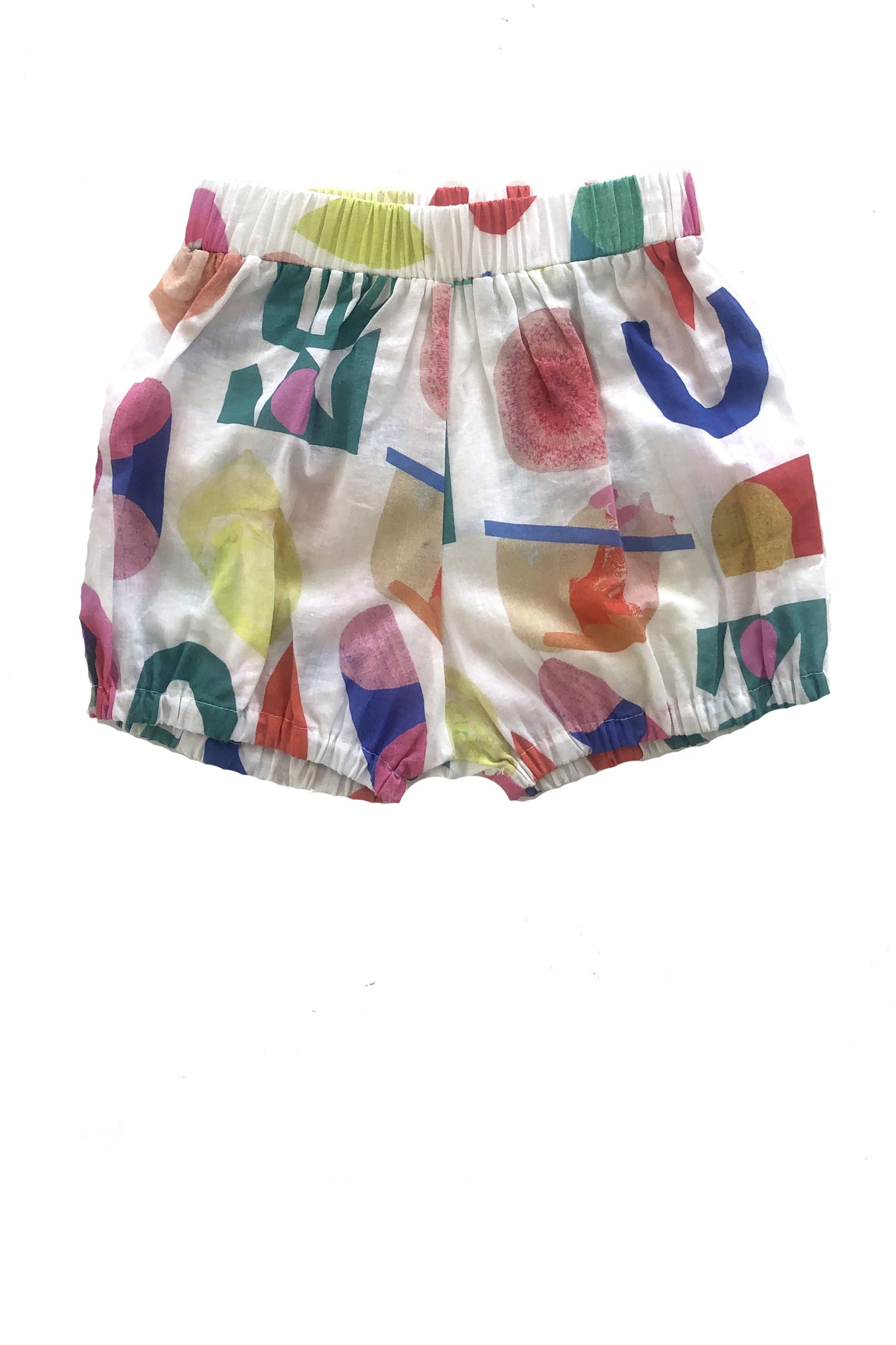 Bloomer Shorts in Abstract