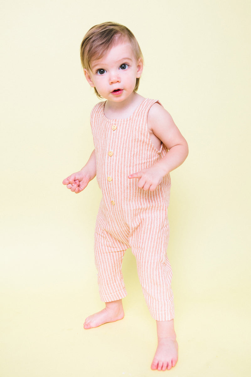Romper in Stripe