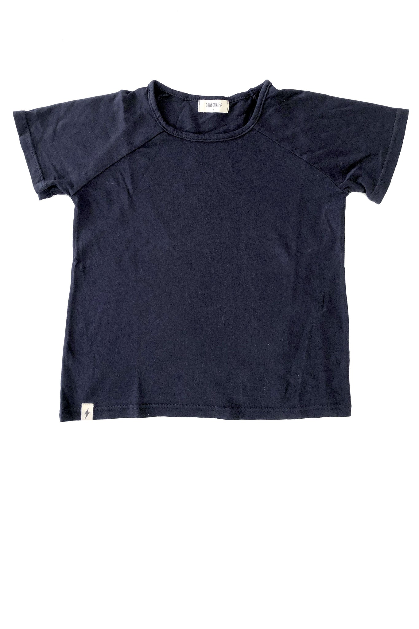 Boxy Tee in Navy