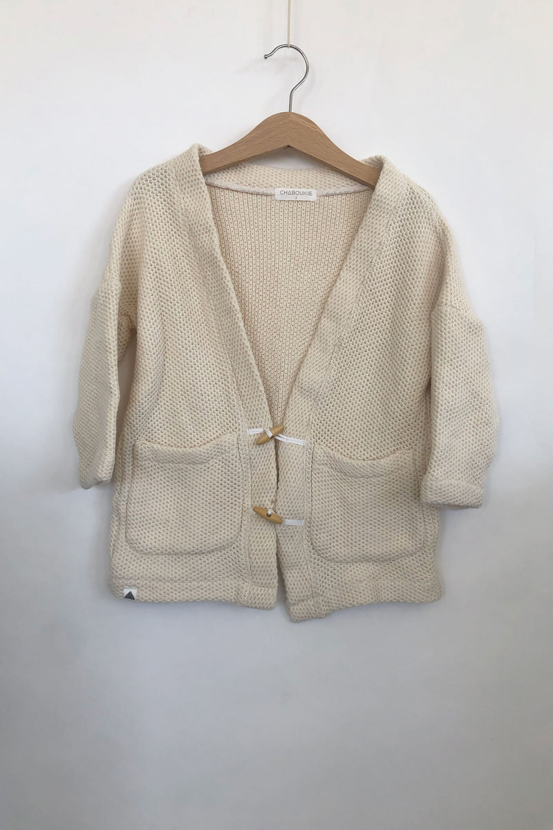 Cardigan Sweater - Natural