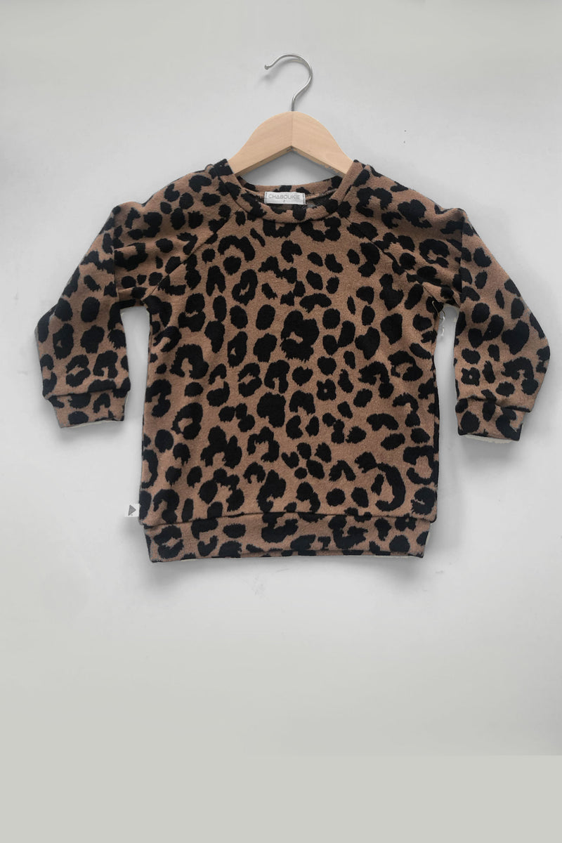 Sweatshirt in Cheetah