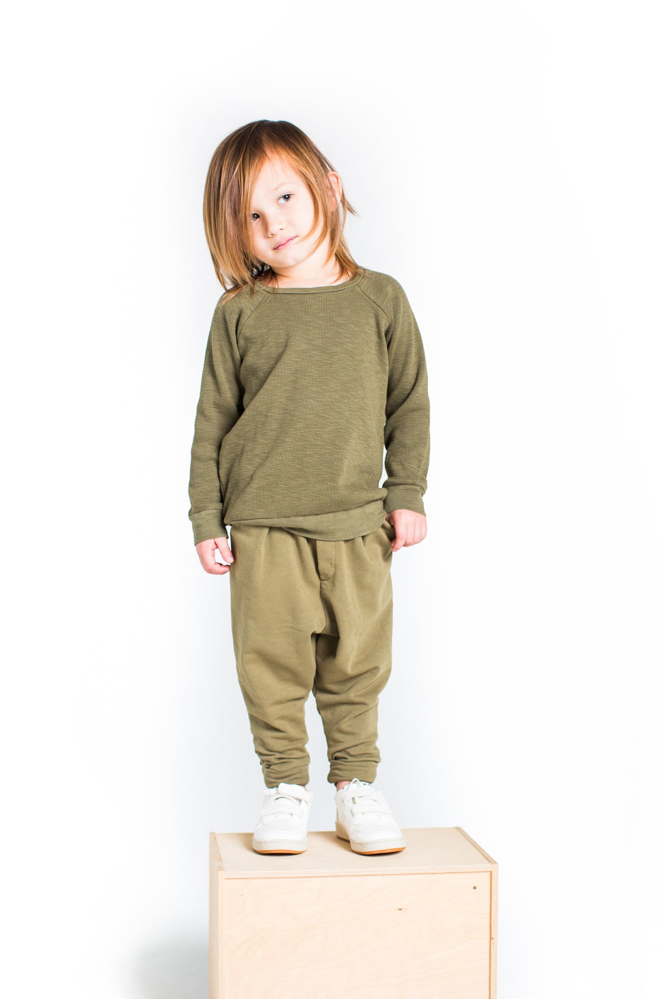 Thermal Top in Olive