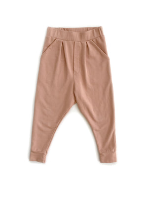 Slouch Pants in Mauve