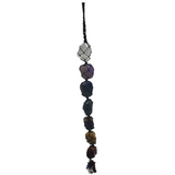 7 Chakra Crystal Rear View Mirror Charm Pendulum Wall Decor
