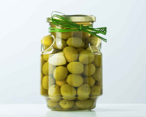 Garlic & Rosemary Stuffed Olives