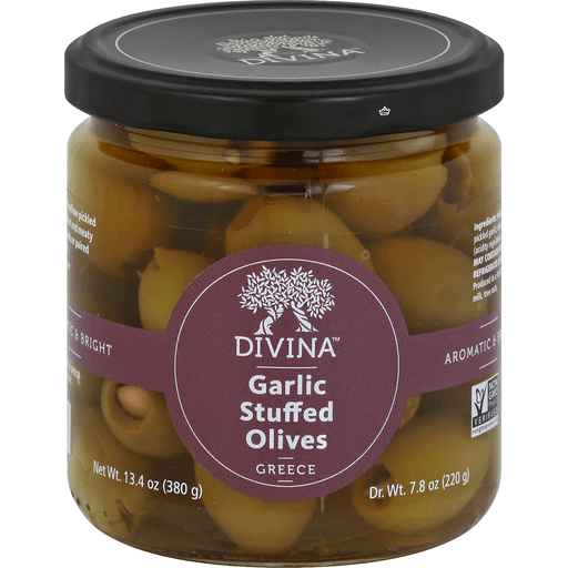 Garlic-Stuffed Green Olives