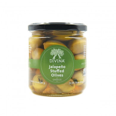 Jalapeño-Stuffed Green Olives