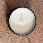 black love soy and coconut wax scented candle shea sandalwood almond made in philly