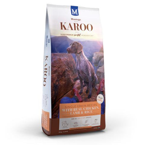 montego karoo adult dog food