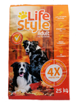 lifestyle adult dog food 25kg