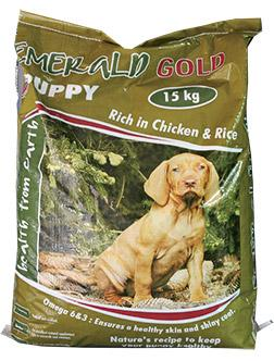 emerald gold puppy food