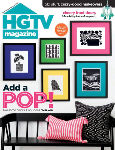 charlotte lea hgtv magazine cover january 2020
