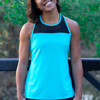 Mesh It Out Womens Yoga Tank Top