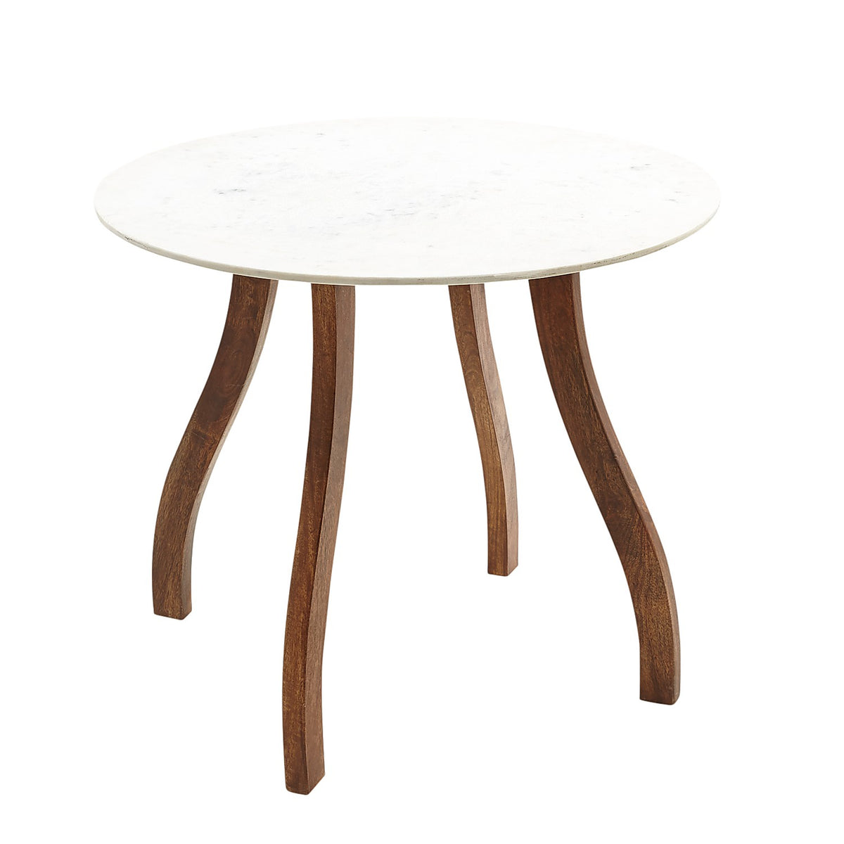 Bailey White Marble 36 Bistro Table Pier 1