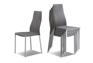 C 1008 - Dining Chair - Grey
