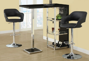 I 2342 - BAR TABLE + I 2357 BAR STOOL 2 PCS