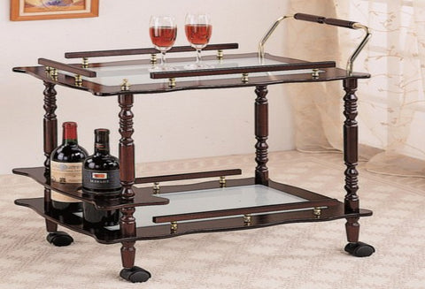 IF 0285 - Serving Cart - Dark Cherry
