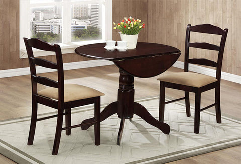 IF 1002 - 3pc Dining Set - Espresso