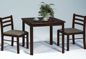 IF 1014E - 3pc Dining Set - Espresso