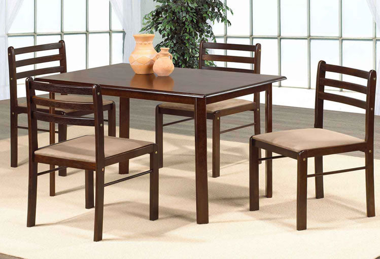 IF 1020 - 5pc Dining Set - Espresso