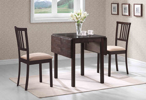 IF 1024 - 3pc Dining Set - Espresso