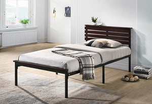 IF 120 - Platform Bed - Wood Panel