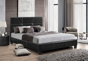 IF 130B - Platform Bed - Black